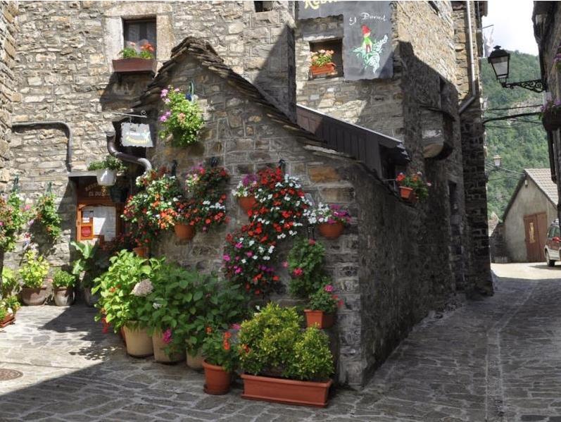 Foto Torla Village. Huesca Aragón Spain.