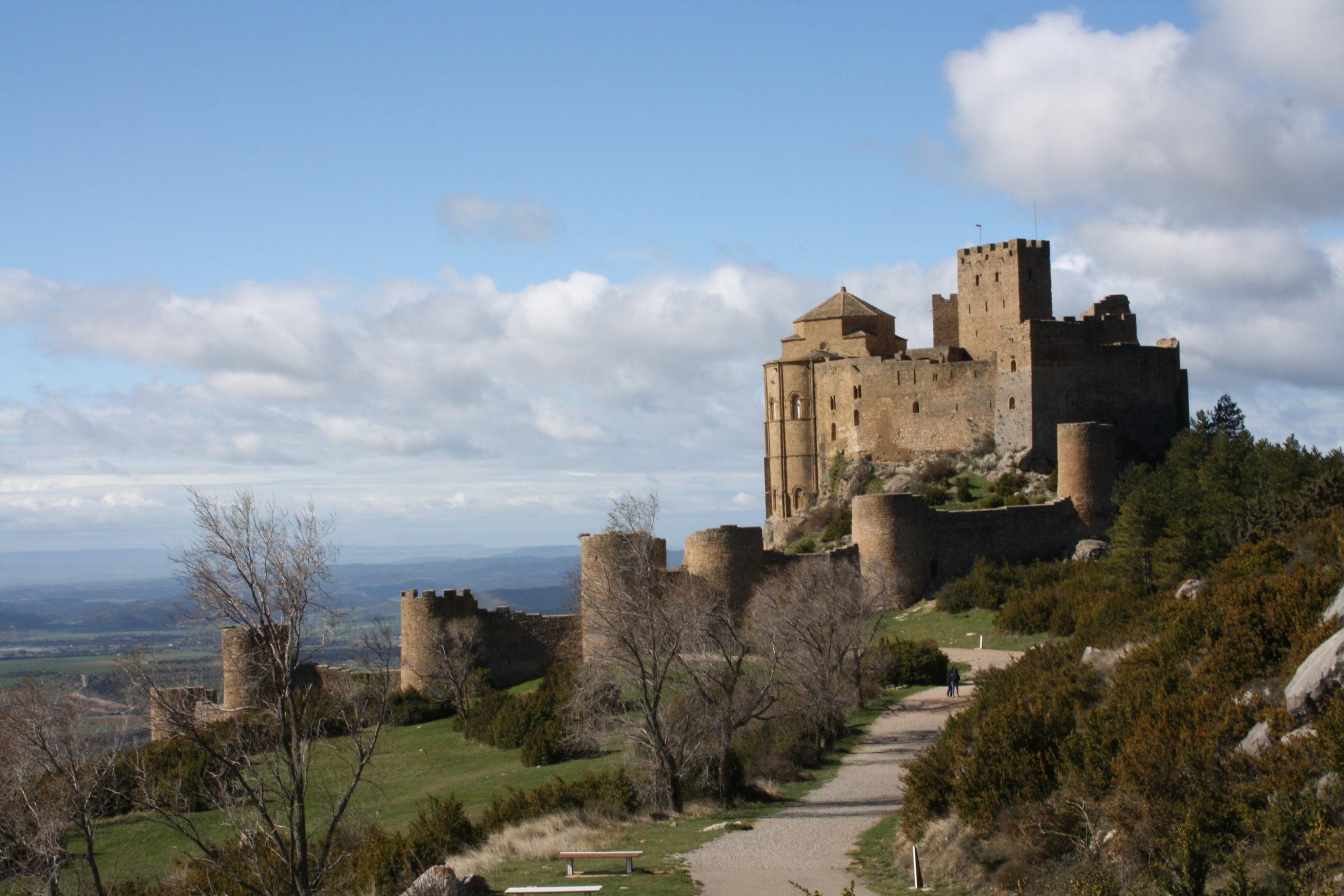 Castle of Loarre. Once of the best Castles in Spain
