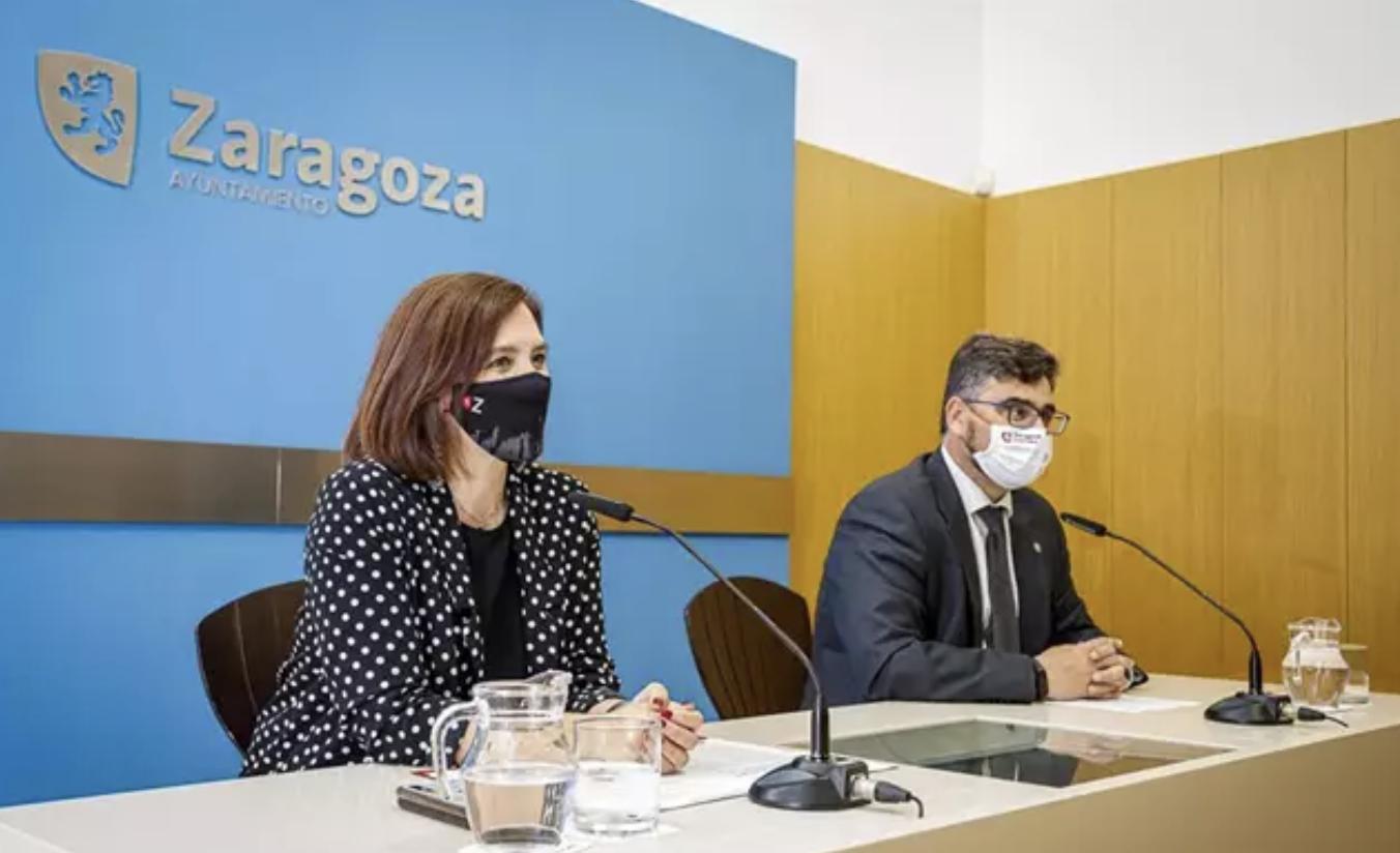 foto presentación de Zaragoza en FITUR 2021