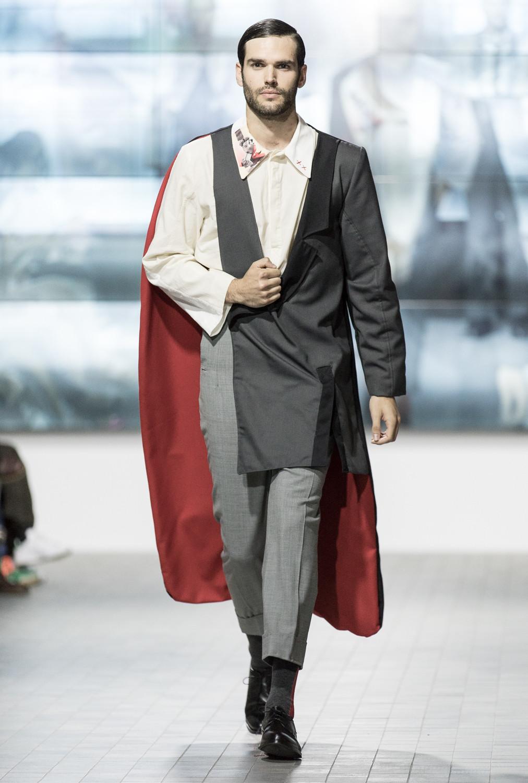 Parade of the Legado XX collection during the Young Designers Contest at Aragon Fashion Week 2018. (Photo: José Garrido)