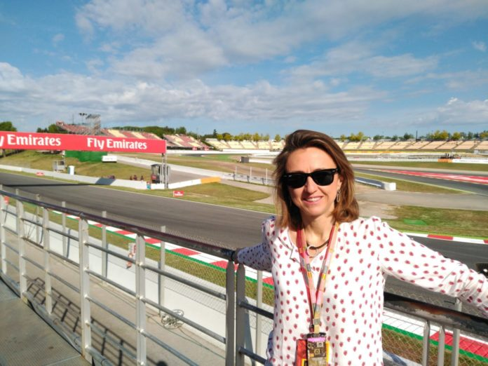 María Lanzón, from Zaragoza, Spain, is the director and communications director of the Royal Spanish Automobile Federation (RFEA)